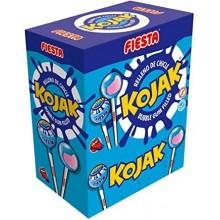 Kojak Fiesta sabor mora pintalenguas relleno de chicle 100 unidades.