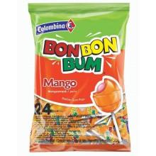 Colombina Bon Bon Bum Mango bolsita 24u.
