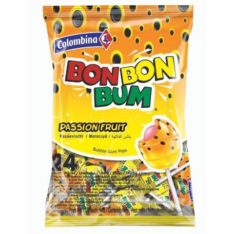 Colombina Bon Bon Bum Maracuyá bolsita 24u.