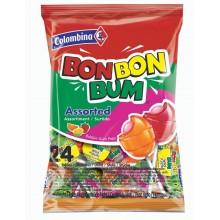 Colombina Bon Bon Bum Sabores surtidos bolsita 24u.