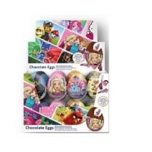Huevos de chocolate Mix Licencias 24u.