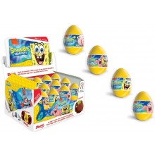 Huevos de chocolate Bob Esponja 24 unidades.