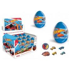 Huevos de chocolate Hot Wheels 24 unidades.