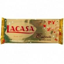 Turrón crujiente de chocolate LACASA 250gr.