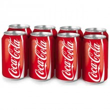 Coca Cola lata 33cl pack 8 unidades