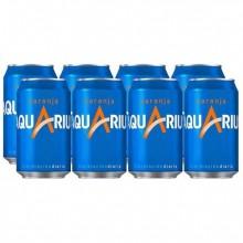 Aquarius Naranja lata 33cl pack 8 unidades