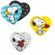 Lata corazón Snoopy con bombones 100gr.