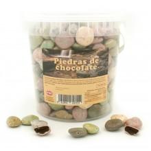 Piedras de río de chocolate 1Kg.