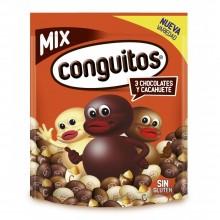 Conguitos MIX 3 chocolates bolsa 350gr.