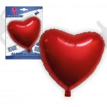 Globo Foil Corazón Rojo 80cm. 1u.