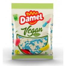 Golosina Vegana Damel Aros Azul-Blanco 1kg.