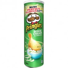 Pringles Sour Cream & Onion 165gr 1u.