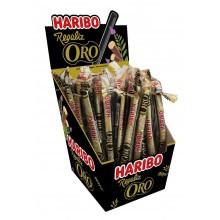 Regaliz Haribo ORO 75 unidades.