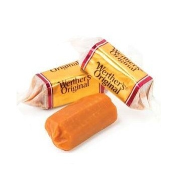 Caramelos Werther's Toffe Nata 1kg.