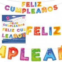 Guirnalda Feliz Cumpleaños Burbujas 1u.