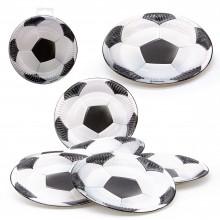 Platos Fútbol pequeños 6u.