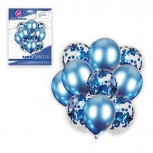 Ramo de Globos Azul con 10 globos
