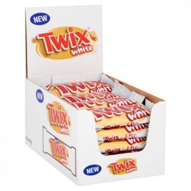 Twix white 30 unidades.