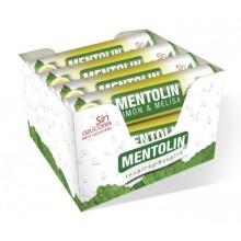 Caramelos Mentolin Limón & Melisa sin azúcar 12 tubos