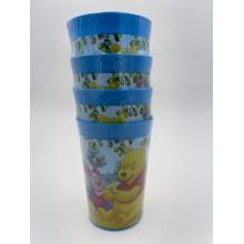 Vasos de plástico winnie the pooh 4u.