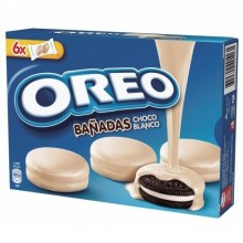 Oreo Bañandas chocolate blanco 6 x 2u.