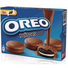 Oreo Bañandas chocolate con leche 6 x 2u.