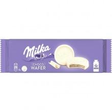Milka Choco Wafer blanco 6u.