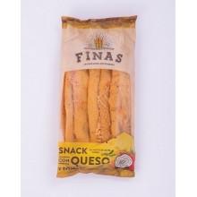 Snack con queso y tomate Finas 75gr.