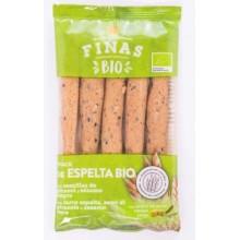 Snack de espelta bio integral Finas 75gr.