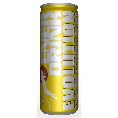Bebida Energética Vitalis Piña & Coco 250 ml. 24u.
