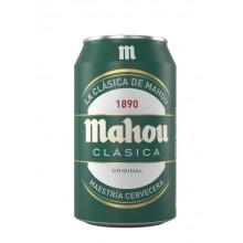 Cerveza Mahou Clásica lata 33cl pack 8 unidades