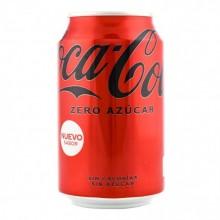 Coca Cola Zero lata 33cl pack 8 unidades