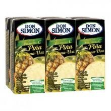Zumo Don Simon Piña 200ml pack 6 unidades