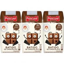 Batido de chocolate Pascual 200ml 3 unidades