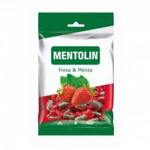 Caramelos Mentolin Fresa & Menta bolsita 150gr.