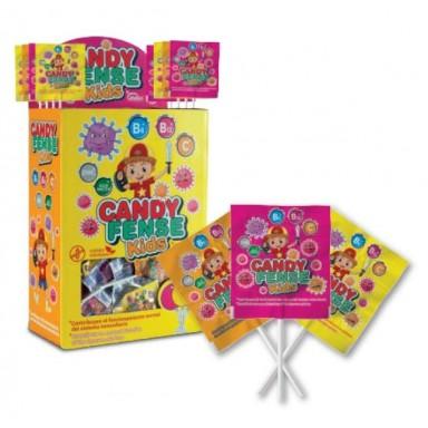 Piruletas Veganas Candyfense kids 200u.
