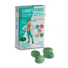 Caramelos Candyfense veganos s/a Mentol Eucalipto cajitas 20u.