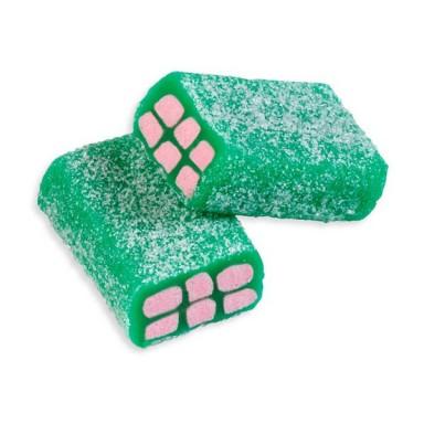 Caramelos de goma Fini bolsa Ladrillos sandía pica rellenos 250u.