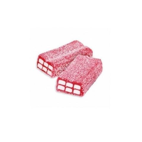 Caramelos de goma Fini bolsa Ladrillos fresa pica rellenos 250u.