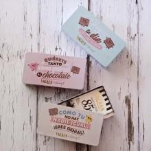Lata Mr. Wonderful tabletas chocolate puro 200gr.