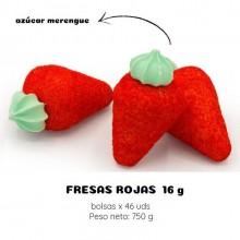 Masmelos Chirico Fresas rojas 46 unidades