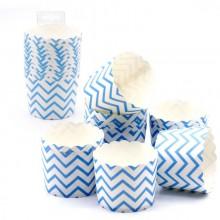 Cápsulas para Cupcakes Azules 12 unidades