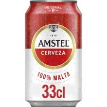 Cerveza Amstel lata 33cl pack 8 unidades