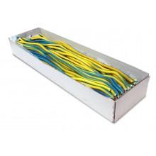 Regaliz Fini Cables gigantes PICA LIMÓN-FRAMBUESA 100u.