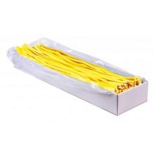 Regaliz Fini Cables gigantes BRILLO PLÁTANO 100u.