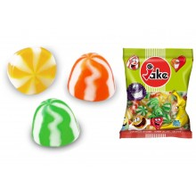 Caramelos de goma Jake Caprichos Twist 3 colores 1kg.