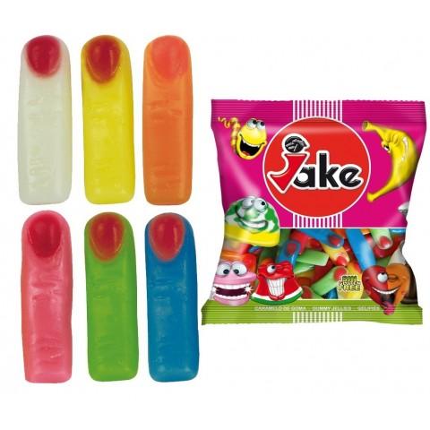 Caramelos de goma Burmar Dedos brillo colores bolsa 250u.