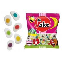 Caramelos de goma Jake Huevos Multicolor 250 unidades