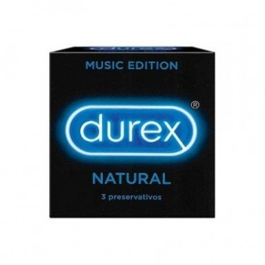 Preservativos Durex Natural Comfort 3u. Bandeja 24u.