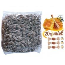 Caramelos Cerdán de Propóleo con 20% Miel 1kg.